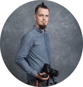 Portretų fotografas Justinas Lekavičius