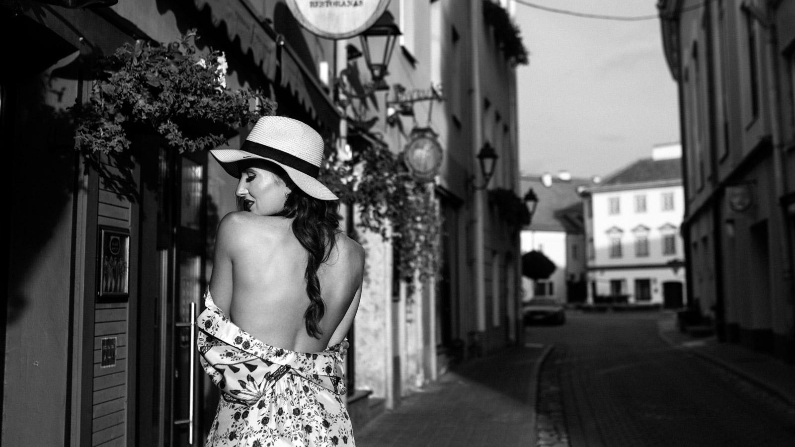 Asmeninė fotosesija mieste