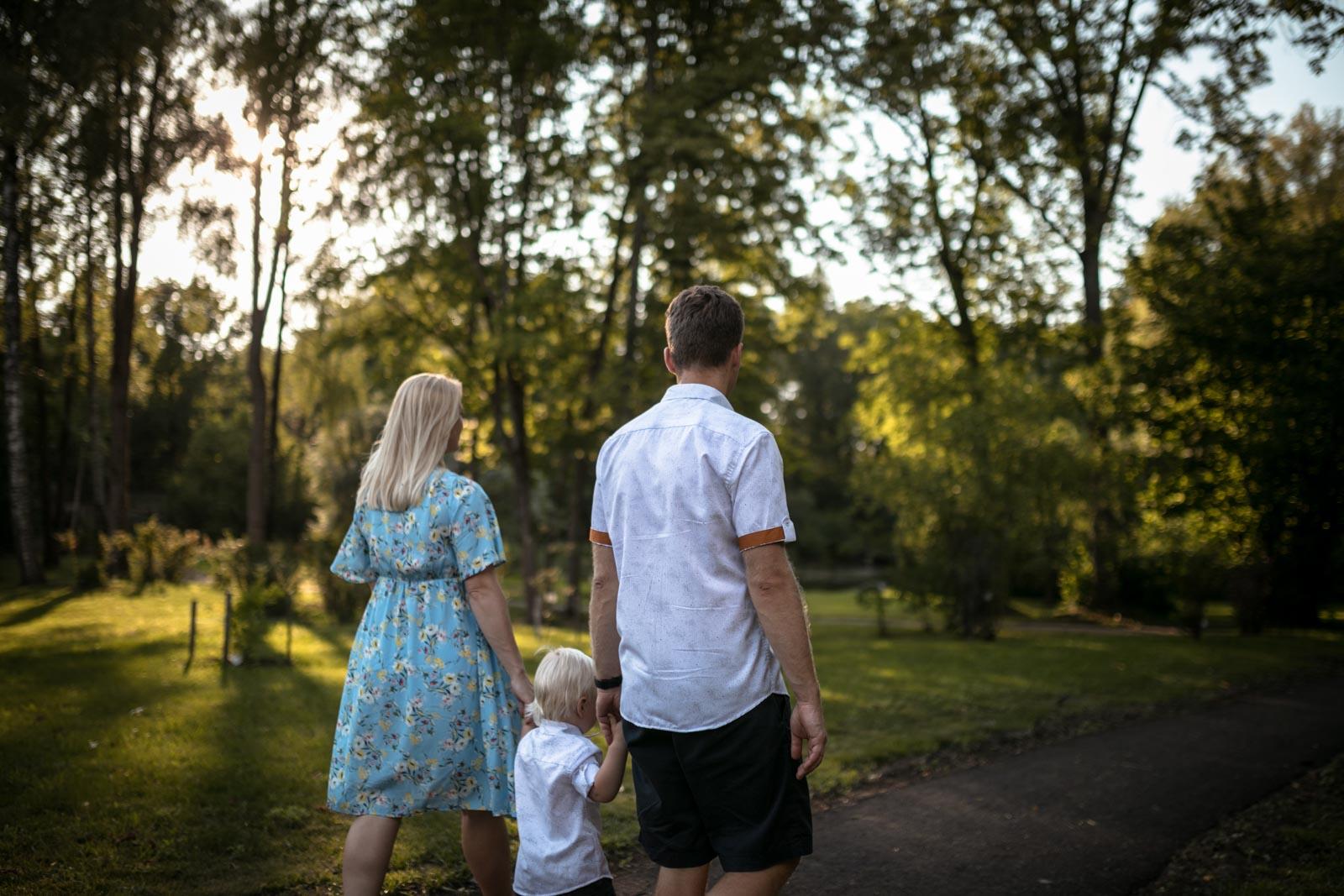 laukimo fotosesija, šeimos